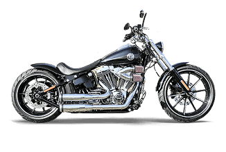 Harley-Davidson Softail Breakout Umbau Roadzter Custombike