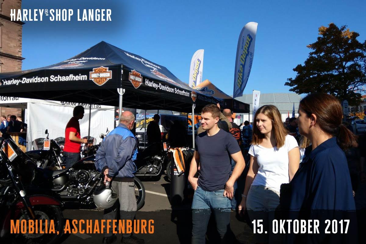 Harley-Shop Langer Mobilia Aschaffenburg 15. Oktober 2017