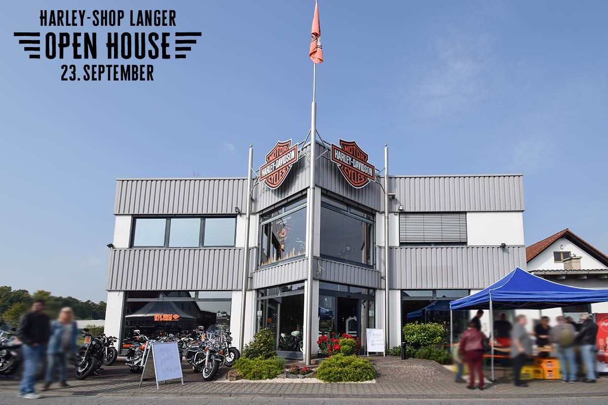 Harley-Shop Langer Open House 23. September 2017