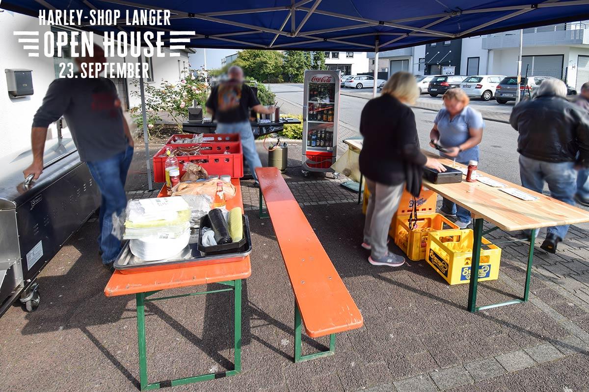 Harley-Shop Langer Open House 23. September 2017