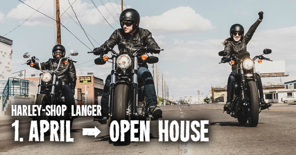 1. April 2017 - Open House bei Harley-Shop Langer