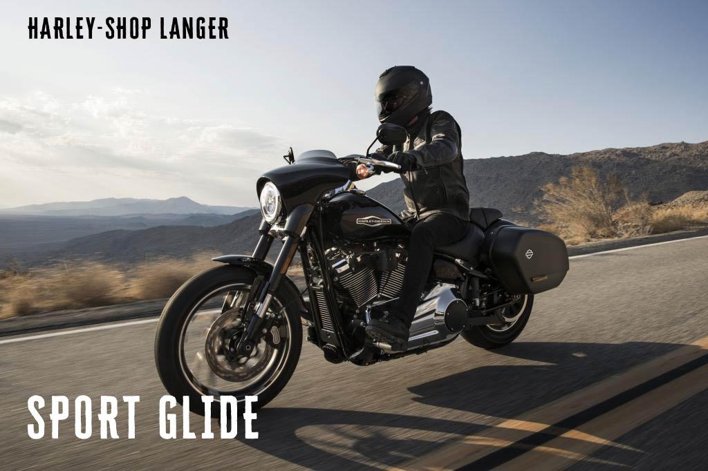 Harley-Shop Langer präsentiert die neue Softail Sport Glide