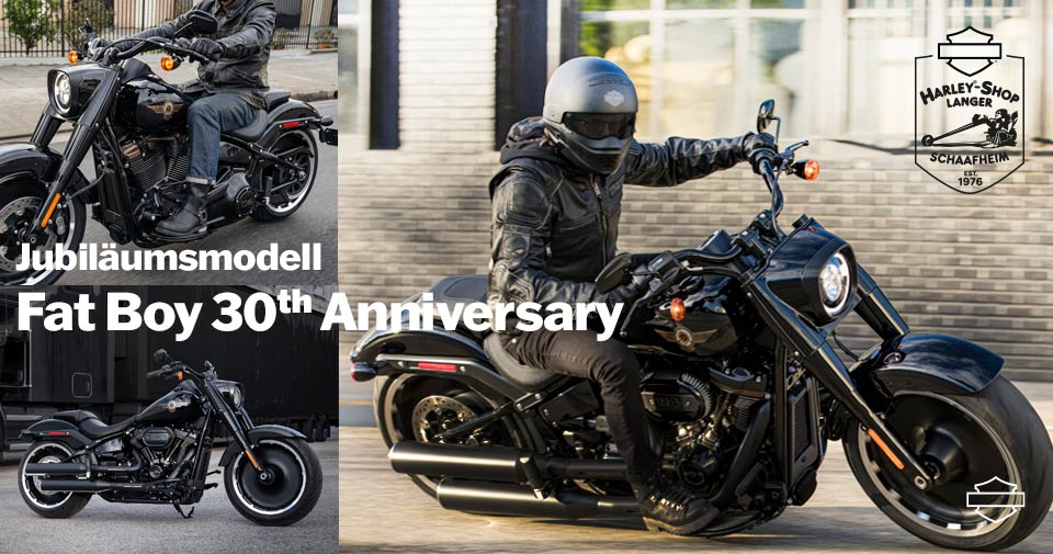 Fat Boy 30th Anniversary Sondermodell ab April