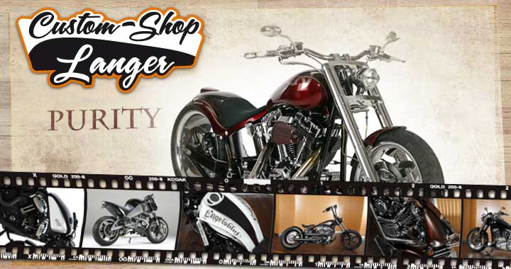 Street Bob, Fourty-Eight oder Softail Umbauten durch den Custom Shop vom Harley-Shop Langer in Schaafheim in Kreis Darmstadt Dieburg bei Aschaffenburg