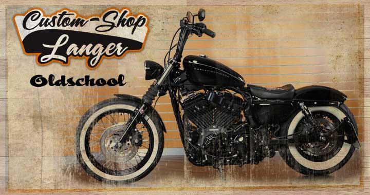 Harley Davidson Sportster Scheinwerfer