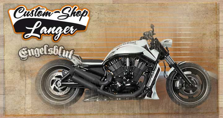 V-Rod Night Rod Special Umbau Engelblut Custombike vom Custom-Shop von Harley-Shop Langer in Schaafheim