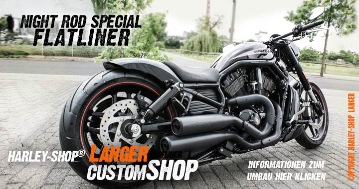 Night Rod Special Umbau Flatliner