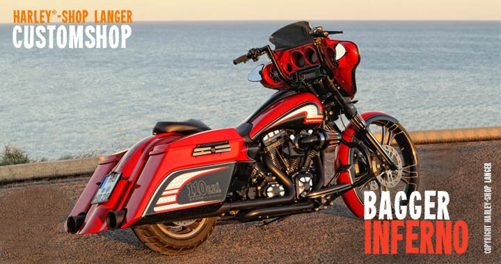 Street Glide Umbau Inferno Custombike