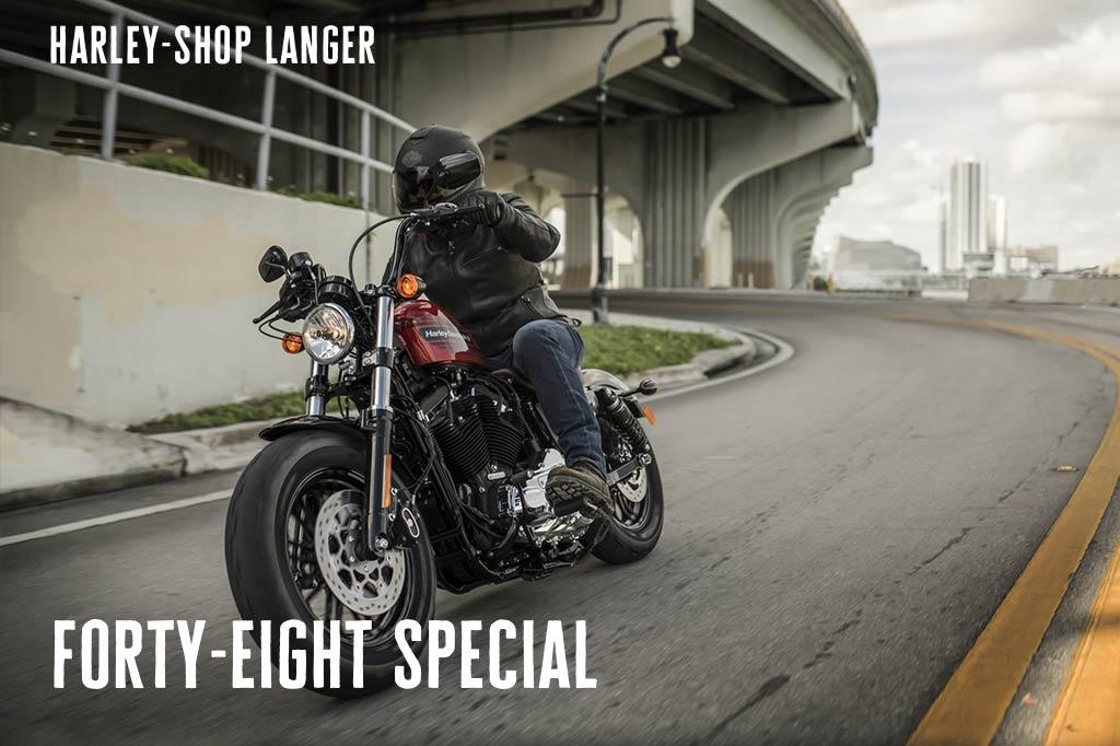 Harley-Shop Langer präsentiert die neue Forty-Eight Special