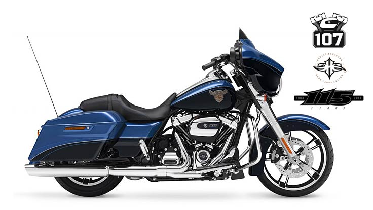115th Anniversary Street Glide Special 2018