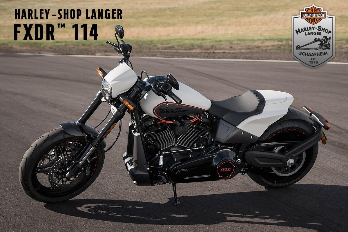 Harley-Shop Langer präsentiert die Neuvorstellung Modelljahr 2019: Softail FXDR 114