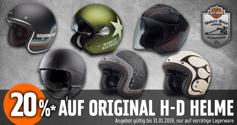 Harley-Shop Langer Helm Aktion