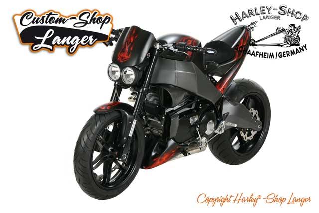 Buell XB12 Umbau Burning Darkness Custombike