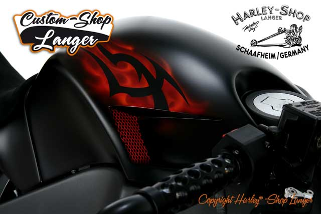 Buell XB12 Umbau Burning Darkness Custombike