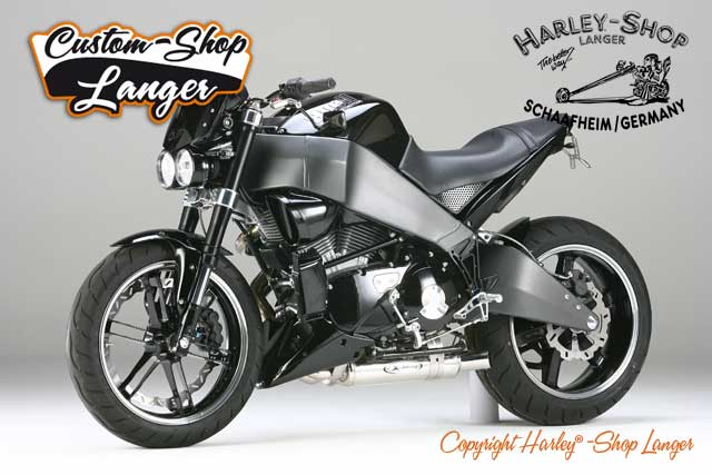 Buell XB12 Umbau Dark Edition Custombike