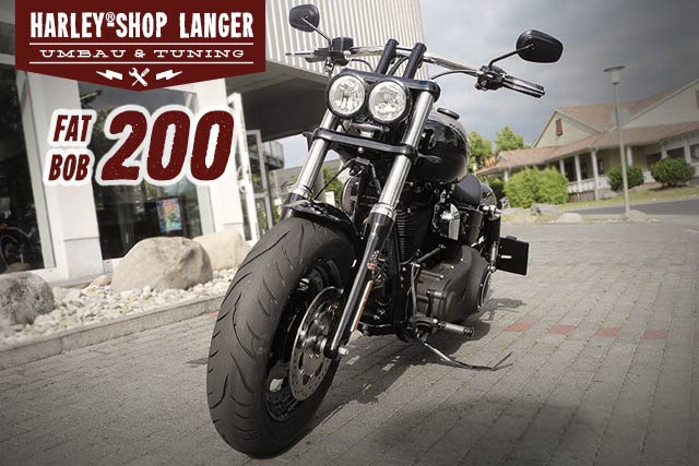 Dyna Fat Bob Umbau Fat Bob 200 Custombike