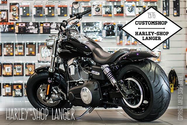 Dyna Fat Bob Umbau Fetter Bob Custombike