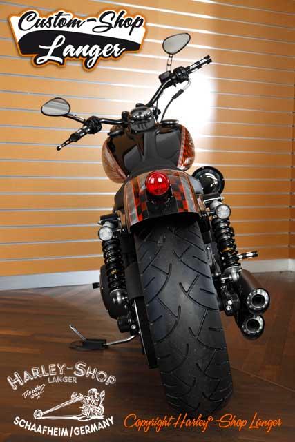 Dyna Street Bob Umbau Race Bob Custombike