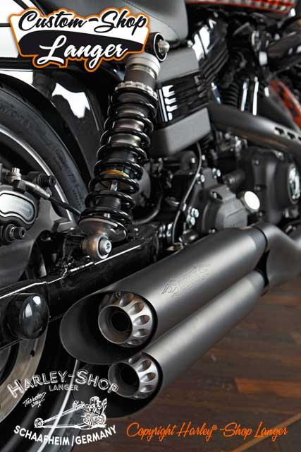 Harley Davidson Luftfilter Breakout