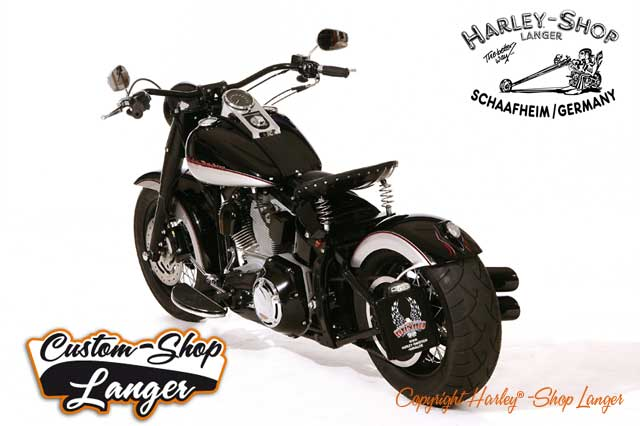 Softail Umbau Bobber Custombike