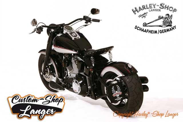 Softail Umbau Bobber Custombike