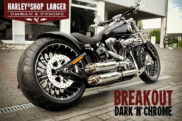 Batterie Laden Harley Davidson Breakout