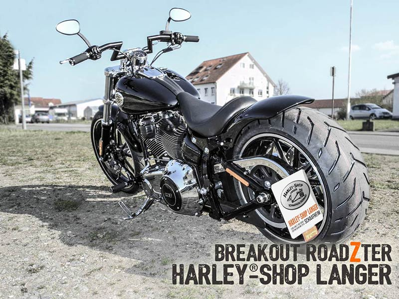 Harley-Shop Langer Breakout Umbau Roadzter Custombike