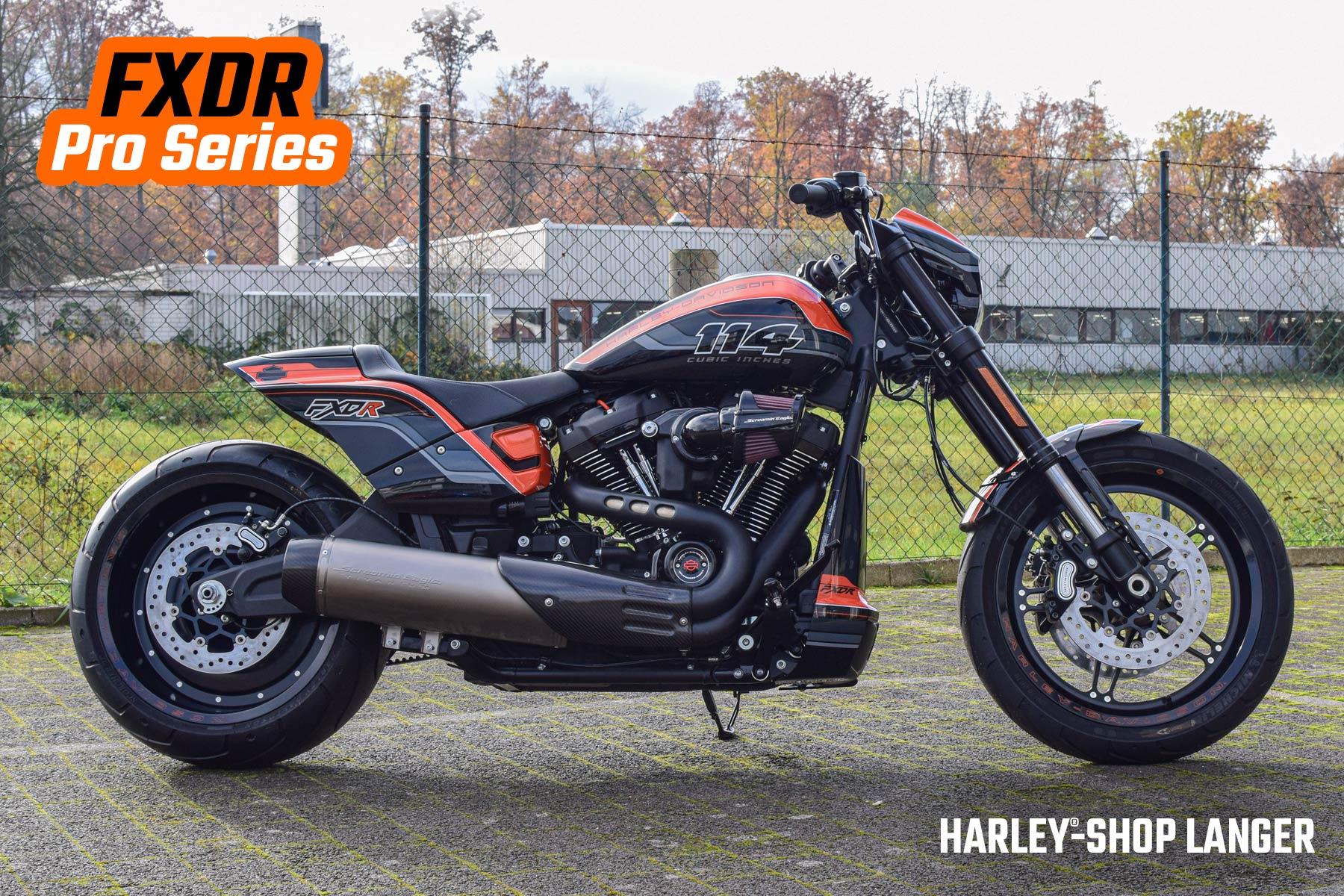 Harley-Shop Langer FXDR Pro Series Umbau Custombike
