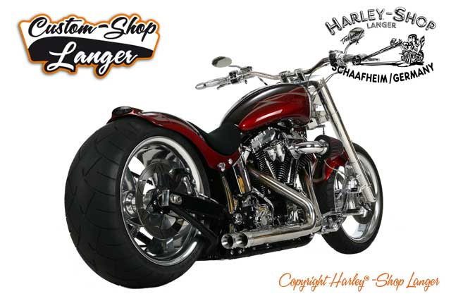 Softail Umabu Purity Custombike