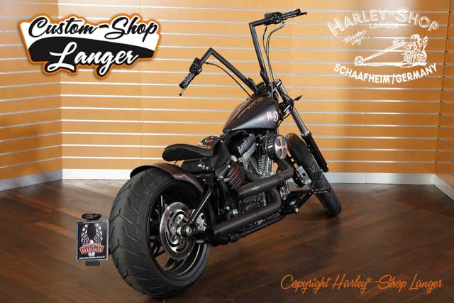 Softail Rocker Umbau Oldschool Custombike
