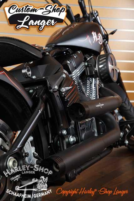 Softail Rocker Umbau Oldschool Custombike