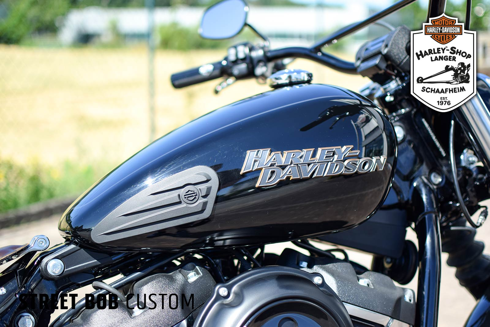 Harley-Shop Langer Softail Street-Bob Custom Umbau