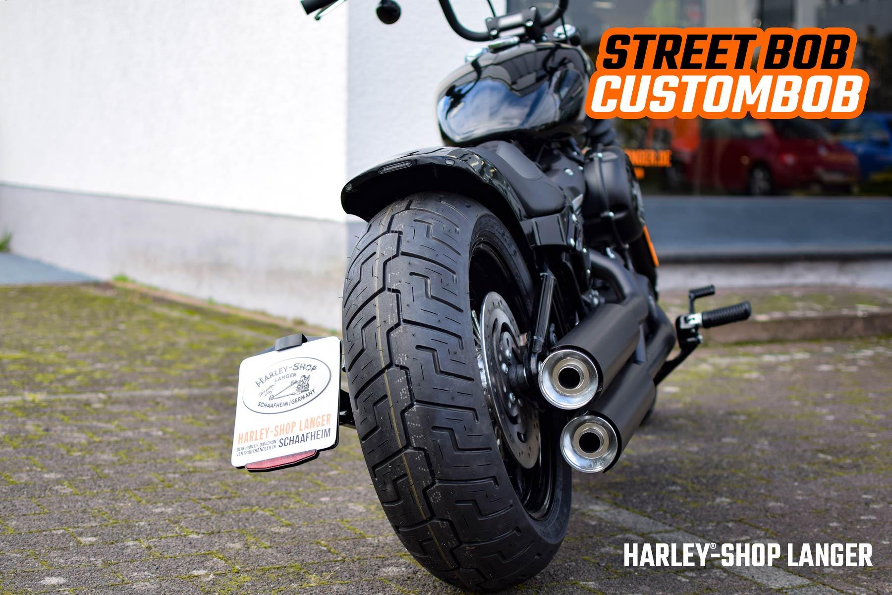 Harley-Shop Langer - Street Bob Custombob Umbau
