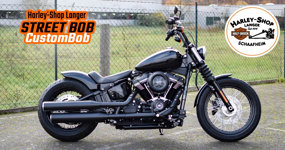Harley-Shop Langer präsentiert Custombike Street Bob CustomBob Umbau