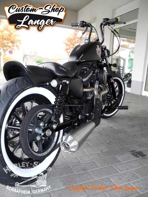 Sportster Iron 883 Umbau Angry Piston Custombike