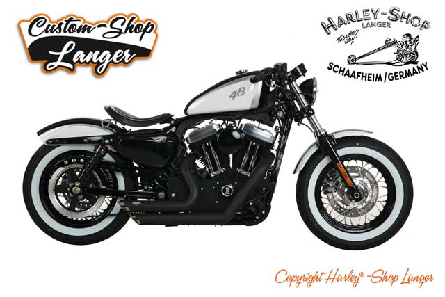 Sportster Forty-Eight Umbau Achtundvierzig Custombike