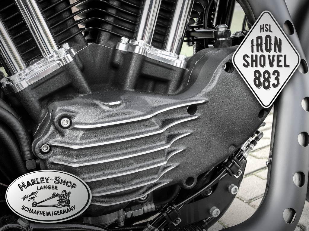 Sportster Iron 883 Umbau Iron Shovel 883