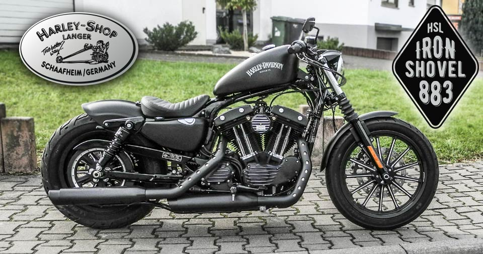 Sportster Iron Shovel 883