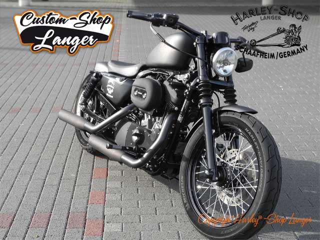 Sportster Nightster Umbau Night Chaser Custombike