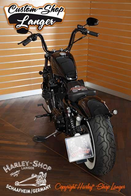 Nightster Umbau Oldschool Custombike