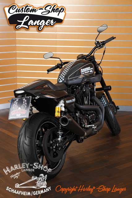 Sportster XR 1200 Umbau Race Replica Custombike