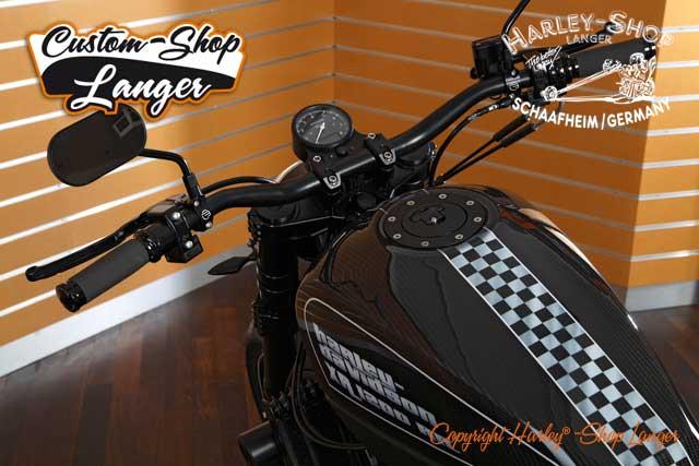 Sportster XR 1200 Umbau Race Replica Custombike