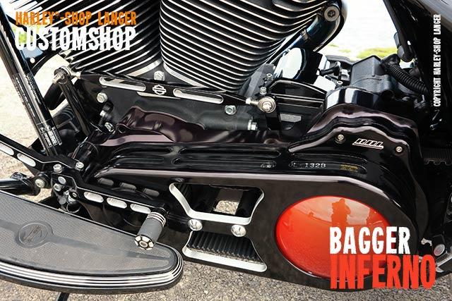 Street Glide Umbau Bagger Inferno Custombike