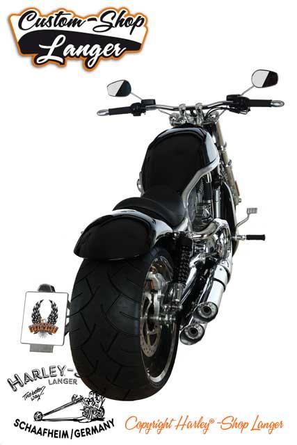 V-Rod Umbau - Zweihundertachtzig/280 Custombike