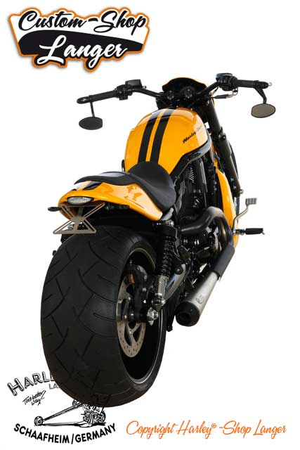Night Rod Special Umbau Drag Racer Custombike