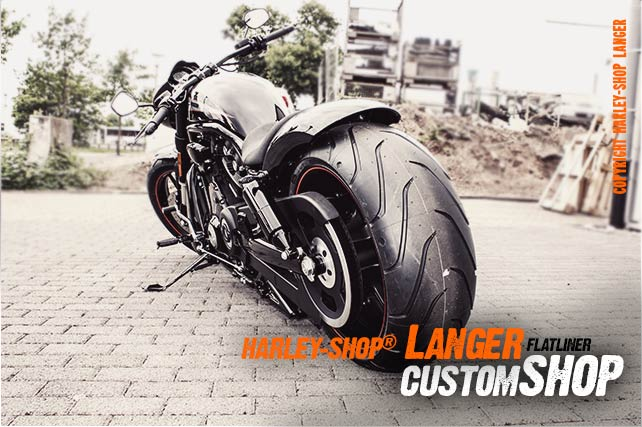 V-Rod Night Rod Special Umbau Flatliner Custombike
