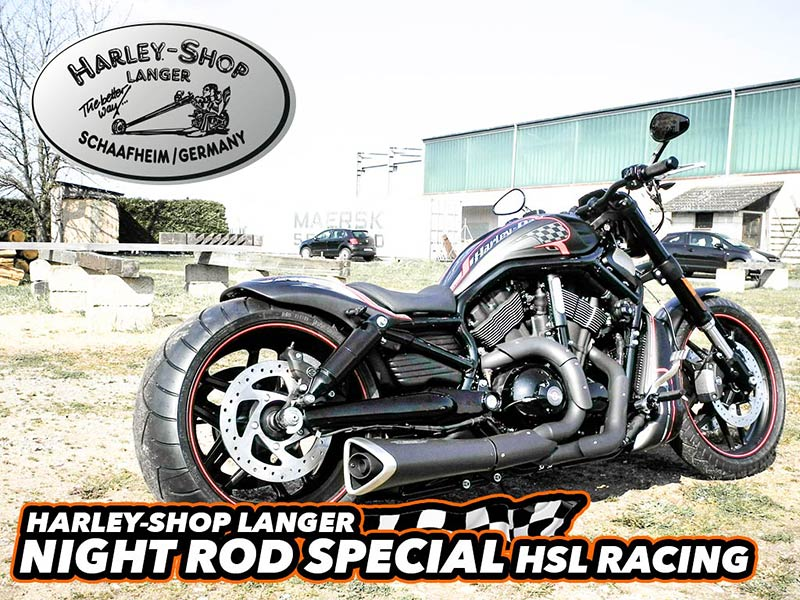 V-Rod Night Rod Special Umbau HSL Racing Custombike