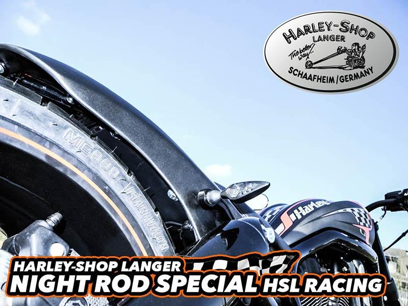 V-Rod Night Rod Special Umbau HSL Racing Custombike