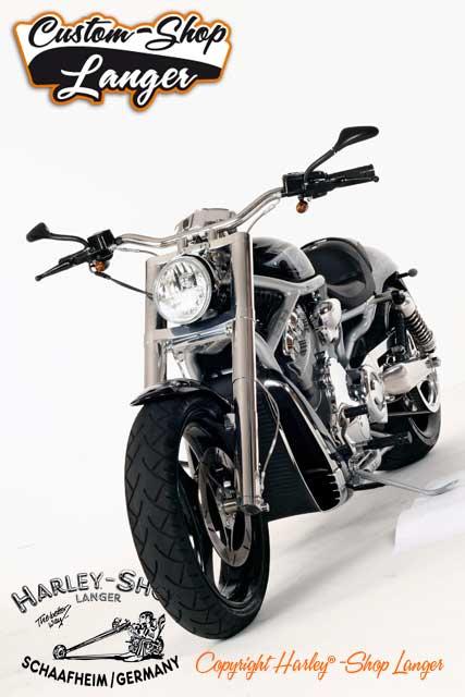 V-Rod Umbau Skull Custombike