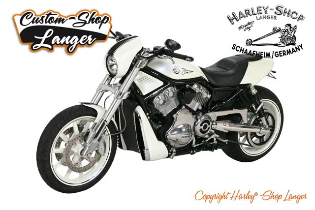 Street Rod Umbau White Pearl RS Custombike